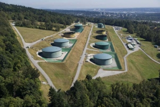 Burnaby tank farm