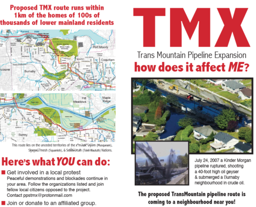 How Does TMX affect ME flyer from Jan 2021